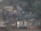 شكوى من تراكم القمامة فى شارع الجمعية بالمنتزة بالإسكندرية .. والشركة ترد