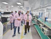 محافظ أسيوط يزور المنطقة التكنولوجية ويتفقد مصنع سيكو لإنتاج الهواتف.. صور وفيديو