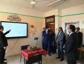 نائب محافظ قنا يشهد البث الإذاعي للمواد التعليمية ونشرها علي المنصات الالكترونية