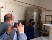 لجنة من محافظة الأقصر والصحة تزور مستشفى الحميات للاطمئنان على توافر الأكسجين