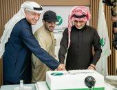 تركى آل الشيخ والوليد بن طلال يشهدان افتتاح المقر الجديد لشركة روتانا بالرياض.. فيديو