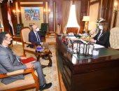 """وزيرة الهجرة تستقبل مدير مكتب منظمة الـ""""يونيدو"""" لبحث التعاون"""