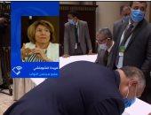 فريدة الشوباشى عن رئاستها جلسة النواب الافتتاحية: التاريخ سيقف عند هذا اليوم