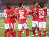 حديث جانبي بين موسيماني ورمضان صبحي بعد مباراة الأهلي وبيراميدز