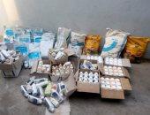 ضبط 377 كيلو إضافات للأعلاف الحيوانية منتهية الصلاحية خلال حملة بالشرقية