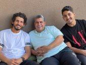 أحمد حجازى بعيداً عن ملاعب كرة القدم يقضى الوقت مع العائلة