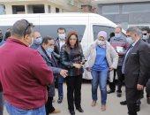 محافظ دمياط تتابع الأعمال الجارية بمشروع تطوير كورنيش النيل بالمدينة