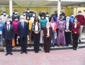 وزيرة الهجرة تلقى محاضرة لإعلامين من جنوب السودان