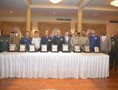 """القوات المسلحة تنظم احتفالية لتسليم شهادات الاعتماد الدولية """"ISO"""" للكلية الجوية"""