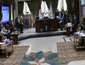 محافظ جنوب سيناء يجتمع القيادات التنفيذية للمحافظة لمناقشة الخطة الاستثمارية