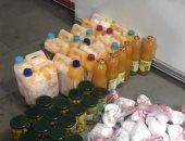إعدام 37 كيلو جرام أغذية و72 عبوة مشروبات غير صالحه للاستهلاك بجنوب سيناء