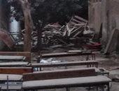جولة مسائية مفاجئة لمدارس شبرا الخيمة تكشف تغيب الحراس وانتشار الرواكد الخشبية