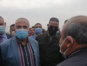 وزير الرى يكشف خلال جولة بالفيوم طريقة الرى الذكى للفلاح
