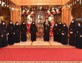 البابا تواضروس الثانى يستقبل رئيسات أديرة الراهبات