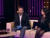 مجدى عبد الغنى: فساتين رانيا يوسف قنبلة.. والفنانة تعلق: بحب الفرفشة والنعنشة