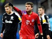 مولر ينفعل على مراسلة بعد خروج بايرن ميونخ من كأس ألمانيا.. فيديو