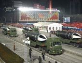 بدون كمامات وإجراءات احترازية.. عرض عسكرى حاشد فى كوريا الشمالية (ألبوم صور)