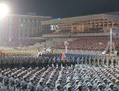 صور.. كوريا الشمالية تقيم استعراضا عسكريا فى بيونج يانج يحوى أسلحة متطورة