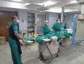 مستشفى قنا العام يجرى 142 قسطرة وتركيب دعامات منذ عودته من عزل كورونا