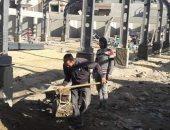 تفاصيل المرحلة النهائية فى إنشاء سوق العصر 2 ببورسعيد.. صور