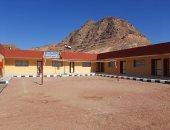 """الدولة تحقق حلم أهالى """"وادى الصهو"""" ببناء مدرسة فى جبال سيناء..صور"""