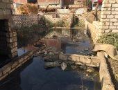"""""""التنمية المحلية"""" ومحافظة سوهاج يتصديان لحل مشكلة المياه الجوفية بقرية الكولا"""