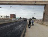 """رصف طريق """"الزقازيق - أبو حماد – العباسة"""" فى الشرقية بـ99 مليونا و800 ألف جنيه"""