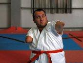 مستر كاراتيه الفلسطينى.. رجل بدون أطراف يتقن فنون القتال.. ألبوم الصور