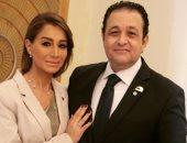 """بسمة وهبة تهنئ زوجها علاء عابد: كلمات """"اليوم السابع"""" عبرت عما بداخلى"""