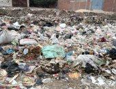 شكوى من تراكم القمامة بقرية زاوية النجار بقليوب.. والمحافظ يستجيب