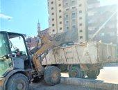 محافظ الغربية يتابع استمرار أعمال النظافة ببعض المدن والقرى