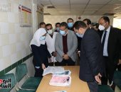 مكافأة للأطقم الطبية بمستشفى السادات المركزى لدورهم البطولى بأزمة كورونا
