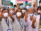 الهند تبدأ أكبر حملة تطعيمات لكورونا فى العالم.. صور