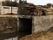 إستكمال مشروع إنشاء حائط ساند بطول 200 متر على ترعه سعود فى الشرقية
