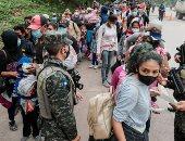 الحلم الأمريكى.. آلاف من مهاجرى هندوراس يعلقون مصائرهم على حدود العم سام.. ألبوم صور