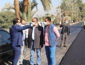 نائب محافظ قنا يتابع رصف طريق وتطوير مجزر ويتفقد مخابز والصحية بنقادة.. صور