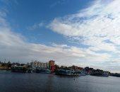 إغلاق ميناء الصيد بعزبة البرج بسبب هطول الأمطار وسوء الأحوال الجوية.. صور