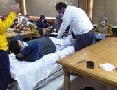 """""""صحة بنى سويف"""" تطلق دورة تدريبية لـ30 من أخصائى العلاج الطبيعى"""