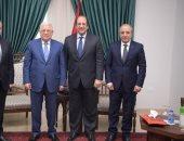 """رئيس المخابرات العامة يزور رام الله وينقل رسالة من الرئيس السيسى لـ""""أبو مازن"""""""