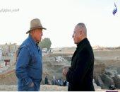 زاهى حواس: الاكتشافات الأثرية بسقارة عمرها 4200 سنة وتشمل هرم جديد