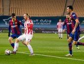 برشلونة ضد أتلتيك بيلباو.. تعادل إيجابي في الشوط الأول المثير.. فيديو