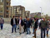 مساعد نائب وزير الإسكان يتفقد مشروعات المنيا الجديدة لمتابعة نسب التنفيذ