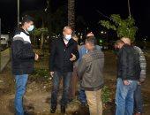 تحرير 18 محضر مخالفة قرار مواعيد غلق المحلات واشغالات ونظافة بـ 3 مدن بالقليوبية