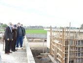 محافظ الشرقية يتابع إنشاء محطة معالجة صرف كفر دنوهيا بـ 400 مليون جنيه.. صور