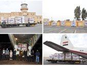مصر ترسل طائرة مساعدات طبية للأردن بتوجيهات من الرئيس السيسي.. فيديو
