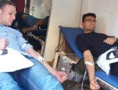 طلاب جامعة المنوفية ينظمون مهرجانا سنويا للتبرع بالدم