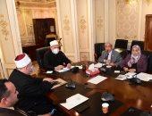 """اللجنة الدينية بـ """"النواب"""" تؤكد أهمية إعداد موسوعة علمية للرد على الفكر المتطرف.. صور"""