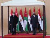 الديوان الملكى الأردنى ينشر فيديو للاستقبال الحافل للرئيس السيسى