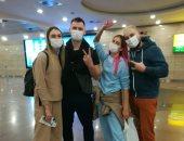 للترويج للسياحة.. مجموعة من المدونين بأوكرانيا فى زيارة تعريفية بمعالم مصر