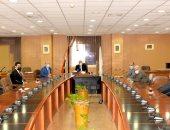 رئيس جامعة المنصورة يبحث خطة الأنشطة الطلابية مع ممثلى مجلس اتحاد الطلاب